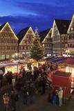 Christmas Fair in the Market Place  Herrenberg  Boblingen District