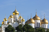 Cathedral of the Annunciation in the Kremlin  UNESCO World Heritage Site  Moscow  Russia  Europe