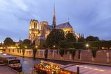 Notre Dame De Paris Cathedral  Paris  France  Europe