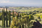Scenery Near to Montepulciano  Val D'Orcia  UNESCO World Heritage Site  Tuscany  Italy  Europe