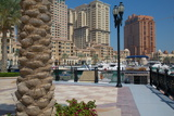 Harbour and Architecture  the Pearl  Doha  Qatar  Middle East