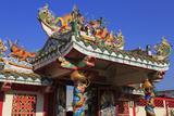 Gateway to Hainan Temple  Nathon City  Koh Samui Island  Thailand  Southeast Asia  Asia