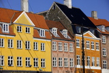 Old Buildings in Famous Nyhavn Harbour Area of Copenhagen  Denmark  Scandinavia  Europe