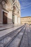 The Duomo Di Siena (Siena Cathedral)  UNESCO World Heritage Site  Siena  Tuscany  Italy  Europe