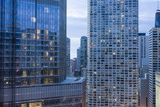 Skyscrapers in Chicago  Illinois  United States of America  North America