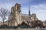 Notre Dame De Paris Cathedral  Paris  France  Europe