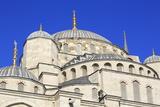 Blue Mosque  UNESCO World Heritage Site  Sultanahmet District  Istanbul  Turkey  Europe
