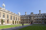 The Courtyard  Clare College  Cambridge  Cambridgeshire  England  United Kingdom  Europe