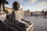 Piazza Del Popolo in Rome  Lazio  Italy  Europe