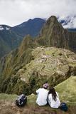 Machu Picchu  UNESCO World Heritage Site  Peru  South America
