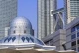 Syakirin Mosque  Kuala Lumpur  Malaysia  Southeast Asia  Asia