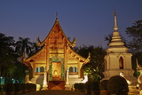 Wat Phra Singh  Chiang Mai  Thailand  Southeast Asia  Asia