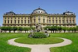 The Residence Palace  UNESCO World Heritage Site  Wurzburg  Bavaria  Germany  Europe