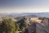 The Old Castle Above Xativa  Valencia  Spain  Europe