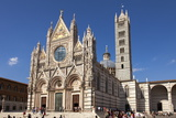 Cathedral of Siena  Tuscany  Italy  Europe