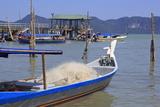Fishing Boats in Porto Malai  Chenang City  Langkawi Island  Malaysia  Southeast Asia  Asia