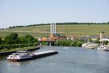 Shipping on the River Main  Wurzburg  Bavaria  Germany  Europe