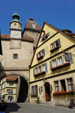 Markus Tower and Roder Arch  Rothenburg Ob Der Tauber  Romantic Road