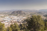The Urbanised Landscape Near to Xativa  Valencia  Spain  Europe