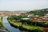 River Main  Wurzburg  Bavaria  Germany  Europe