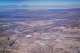 Aerial View of Mine in Atacama Desert in Northern Chile  South America