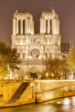 Notre Dame De Paris Cathedral  UNESCO World Heritage Site  Paris  France  Europe