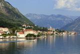 Village  Bay of Kotor  UNESCO World Heritage Site  Montenegro  Europe