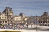 The Louvre Museum  Paris  France  Europe