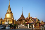 Wat Phra Kaew Inside the Royal Palace  Bangkok  Thailand  Southeast Asia  Asia
