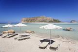 Balos Bay and Beach  Gramvousa Peninsula  Crete  Greek Islands  Greece  Europe