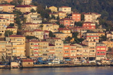 Town of Sanyer on the Bosphorus Strait  Istanbul  Turkey  Europe