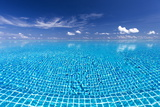 Infinity Pool  Maldives  Indian Ocean  Asia