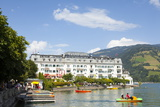 Grand Hotel on Lake Zell Am See  Pinzgau  Salzkammergut  Austria  Europe