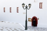Ano Mera Monastery  Mykonos Island  Cyclades  Greek Islands  Greece  Europe