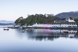Portree Harbour on the Isle of Skye  Inner Hebrides  Scotland  United Kingdom  Europe