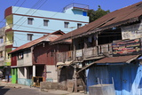 Houses in Port Blair Andaman Islands India Asia