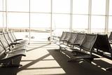 Empty Airport Departure Lounge  Venice  Veneto  Italy  Europe