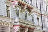 Art Nouveau Style Architecture Locally known as Jugendstil  Riga  Latvia  Europe