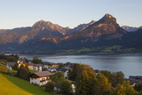 Elevated View over St Wolfgang  Wolfgangsee Lake  Flachgau
