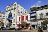 Pansodan Street  Yangon (Rangoon)  Myanmar (Burma)  Asia