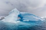 Archway Formed in a Glacial Iceberg at Cierva Cove  Antarctica  Polar Regions