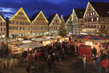 Christmas Fair in the Market Place  Herrenberg  Boblingen District