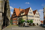 Dinkelsbuhl  Romantic Road  Franconia  Bavaria  Germany  Europe