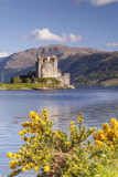 Eilean Donan Castle and Loch Duich  the Highlands  Scotland  United Kingdom  Europe