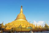 Shwemawdaw Paya Pagoda  Bago  Myanmar (Burma)  Asia