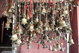 Hindu Bells  Rung by Devotees as an Invocation to the Deities to Hear their Prayers  Sivadol Mandir
