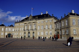 Amalienborg Palace  Winter Residence of the Danish Royal Family  Copenhagen