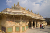 Pavilion Above the Ganesh Bol Gate  Amber Fort Palace  Jaipur  Rajasthan  India  Asia