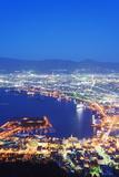 Hakodate Bay Night View  Hokkaido  Japan  Asia