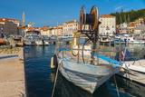 Old Town Harbour  Piran  Primorska  Slovenian Istria  Slovenia  Europe